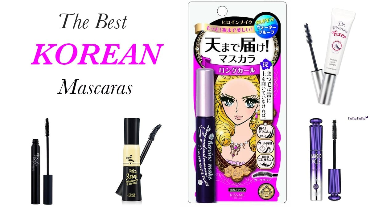Best Korean Mascaras For Short Straight Asian Lashes Nylon Pink