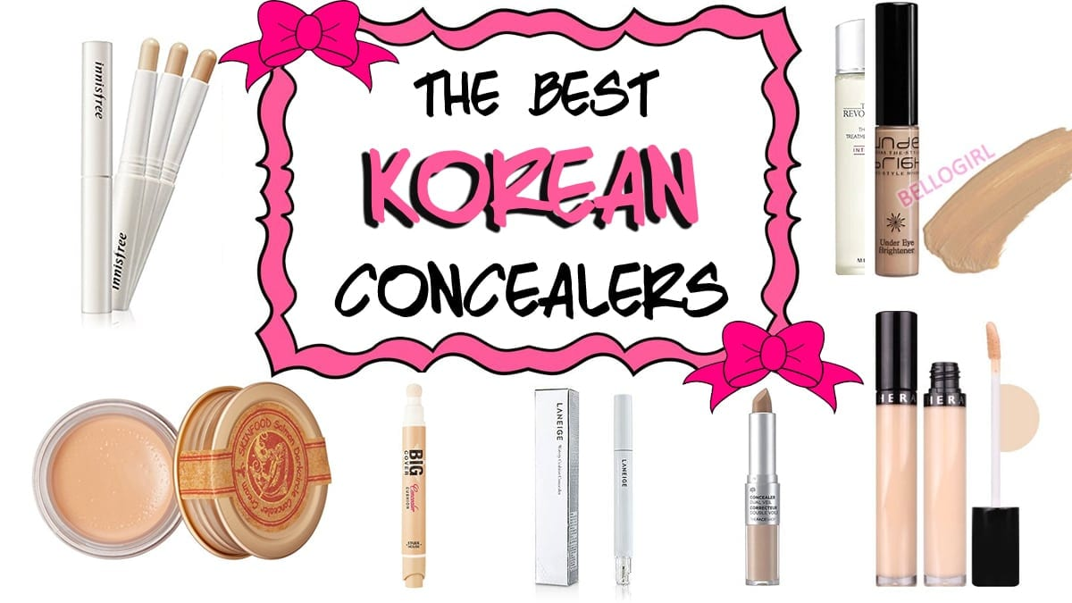 The Best Korean Concealers - Nylon Pink Official Website
