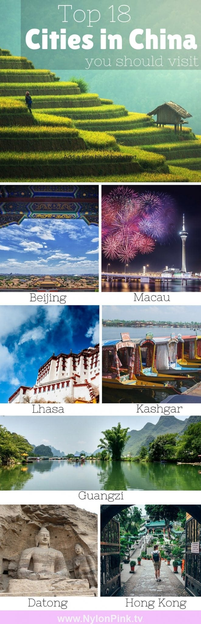 LIST OF BEST CITIES TO VISIT IN CHINA