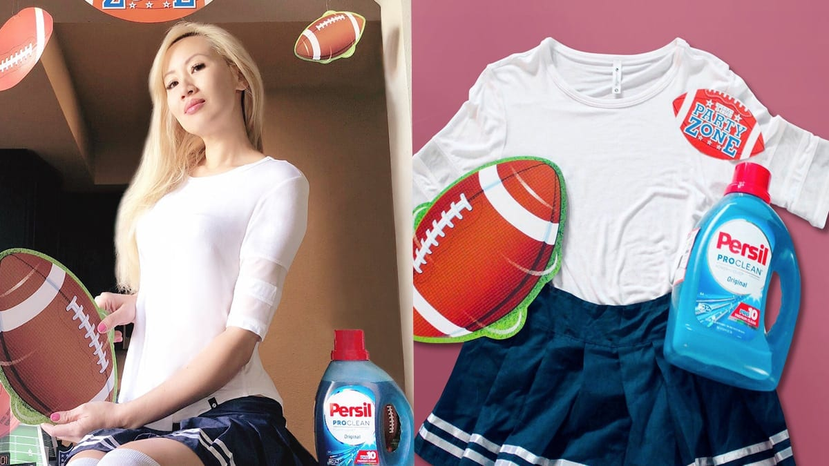 Persil Laundry Detergent and Game Day